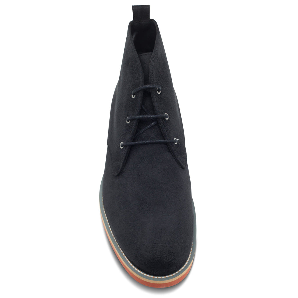 toecap Vegan Desert Boots Ayita Black by GoodGuys at ALIVE Boutique