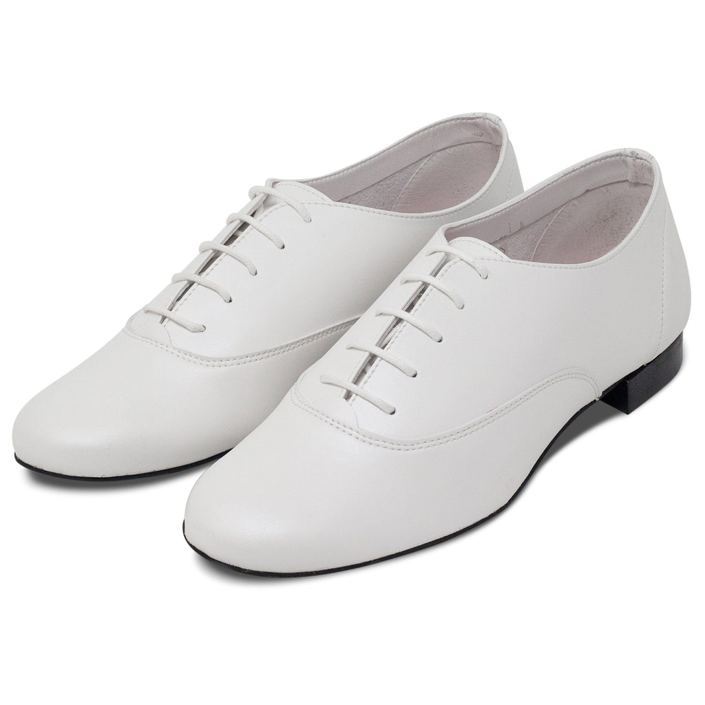pair of Vegan Shoes Mens Bee in White by Good Guys at ALIVE Boutique