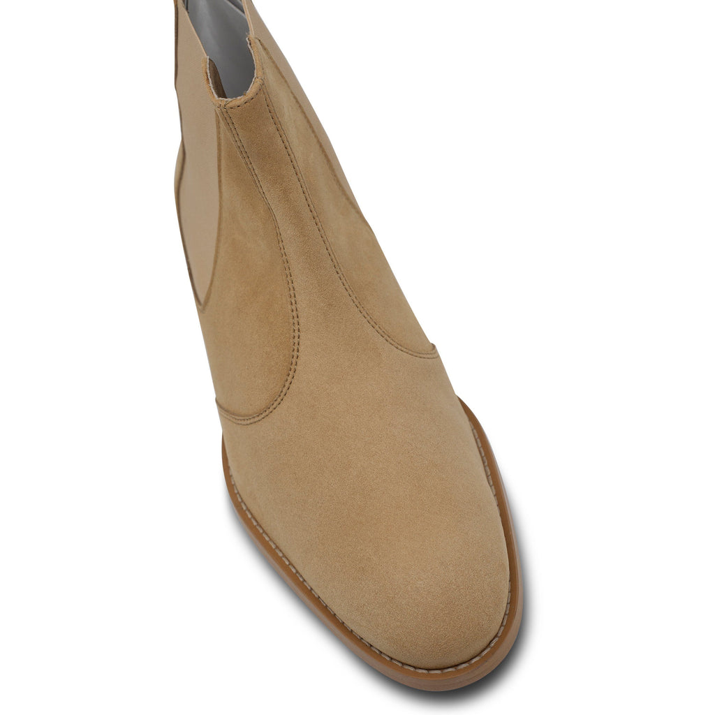 toecap vegan Chelsea Boots for men beige by FAIR at ALIVE Boutique