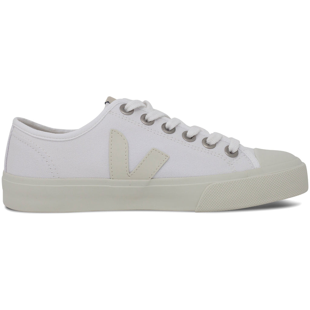 White Vegan Trainers from the right for women Wata Pierre by Veja at ALIVE
