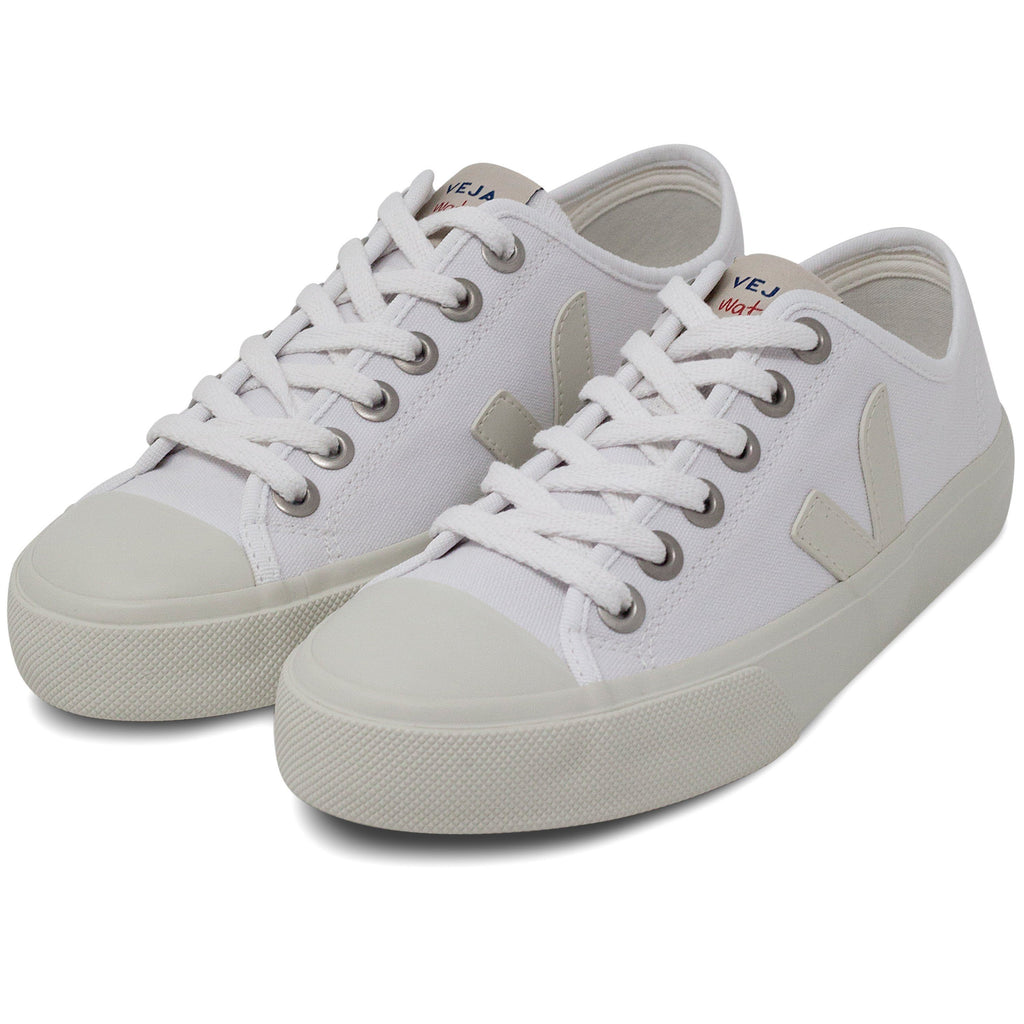 pair of White Vegan Trainers for women Wata Pierre by Veja at ALIVE