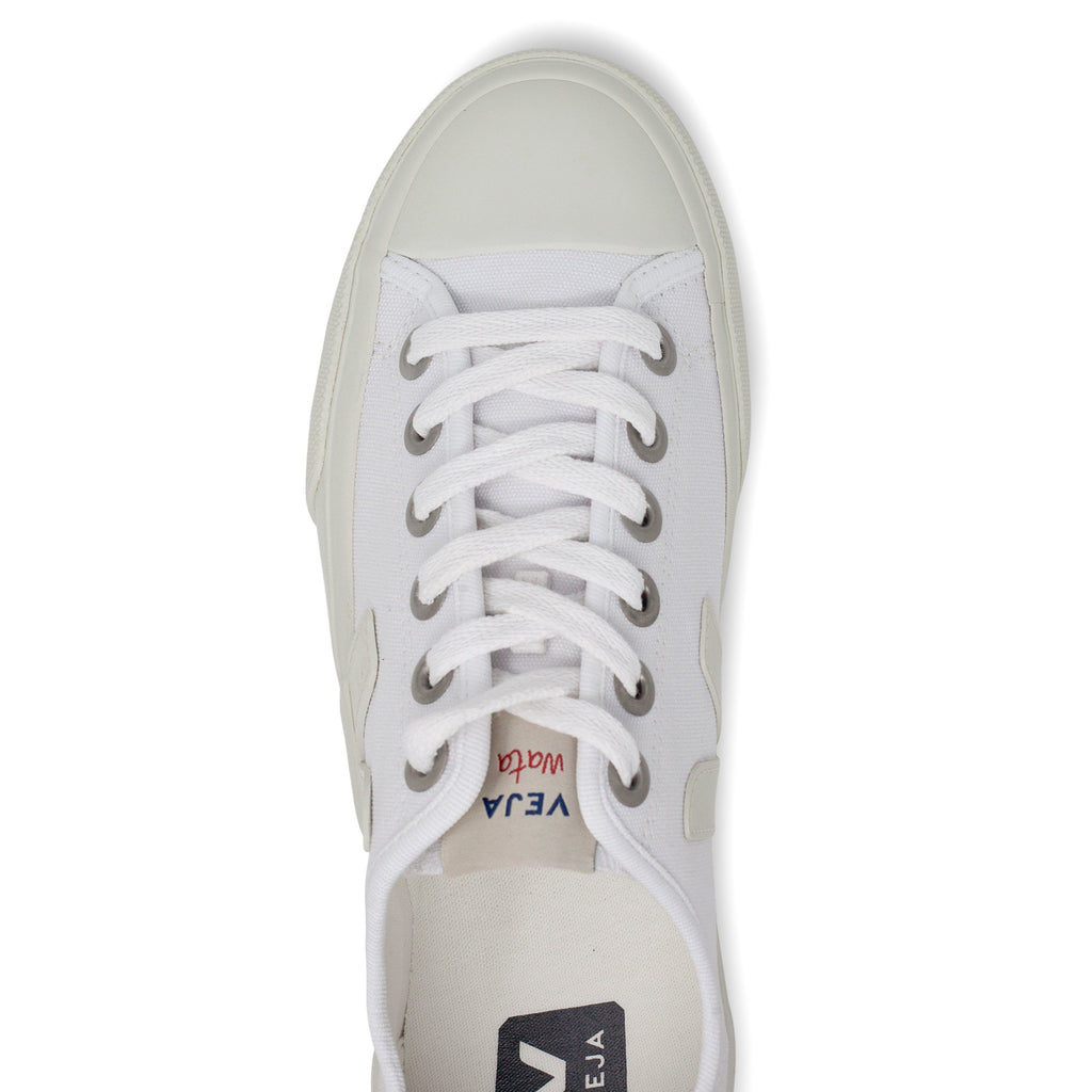 White Vegan Trainers from above for women Wata Pierre by Veja at ALIVE