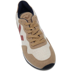 toecap of Vegan Shoes in Beige by Veja for women and for men at ALIVE