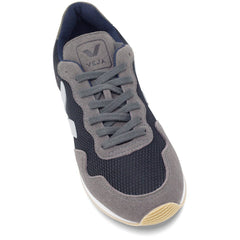 toecap of Vegan Shoes in Black Graphite by Veja at ALIVE Boutique