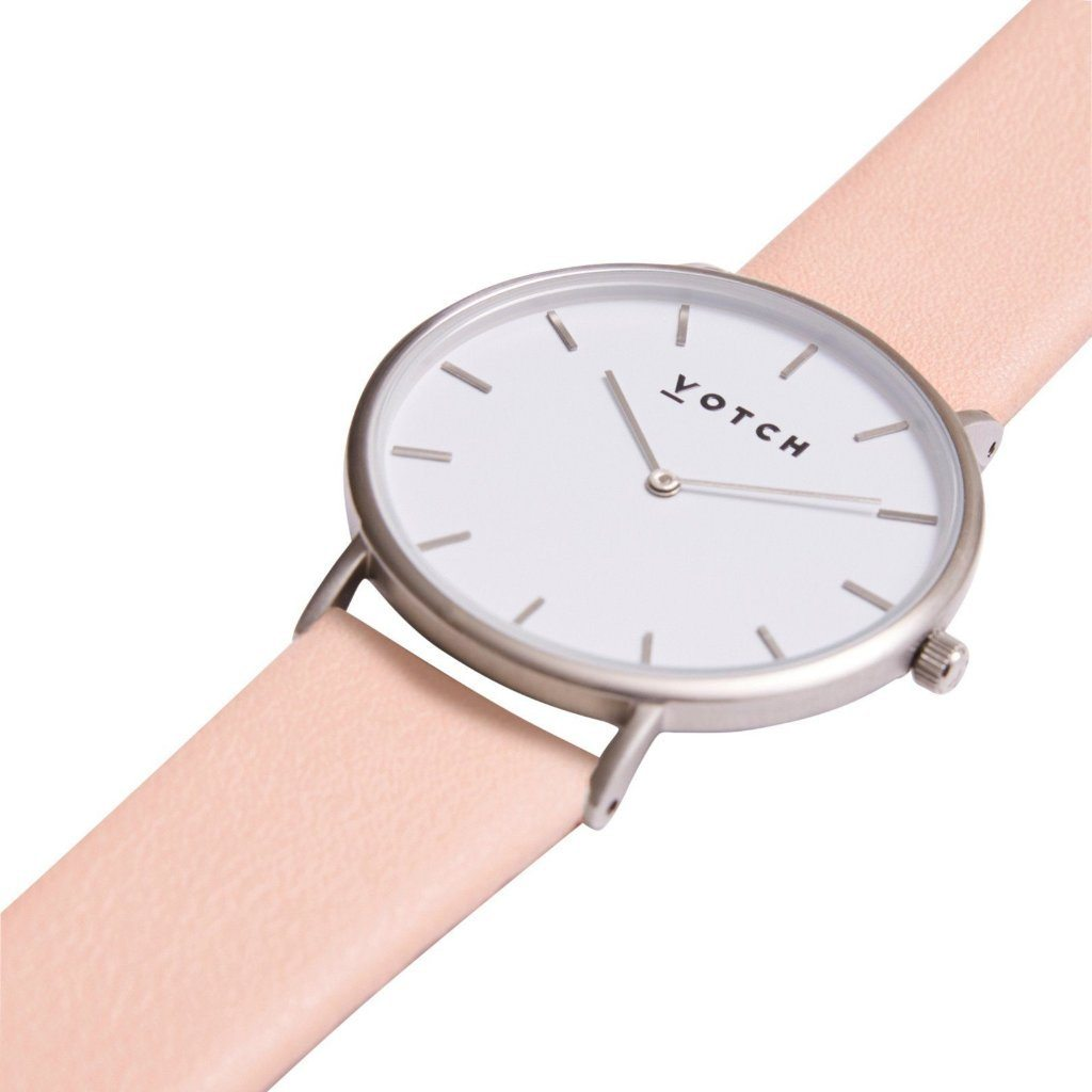 vegan watch Votch The Pink & Silver, Limited Edition at ALIVE Boutique