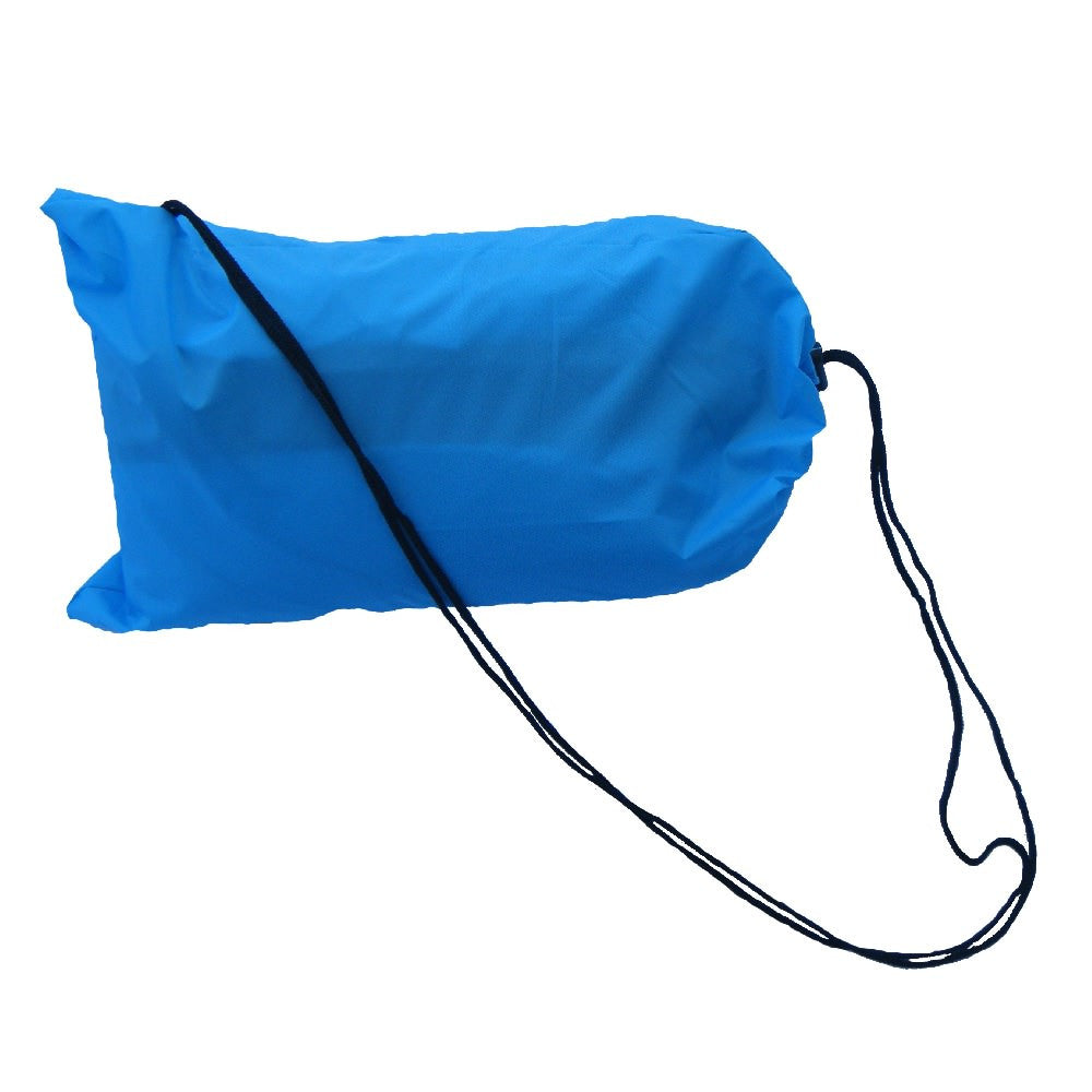 Sac pour chaise gonflable sofa airbag bleu