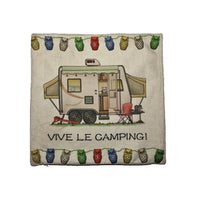 housse coussin vive le camping roulotte hybride happy camper