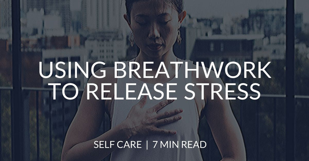 Using breathing meditations for stress relief