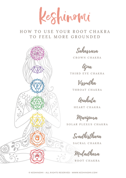 How to use your root chakra to feel more grounded