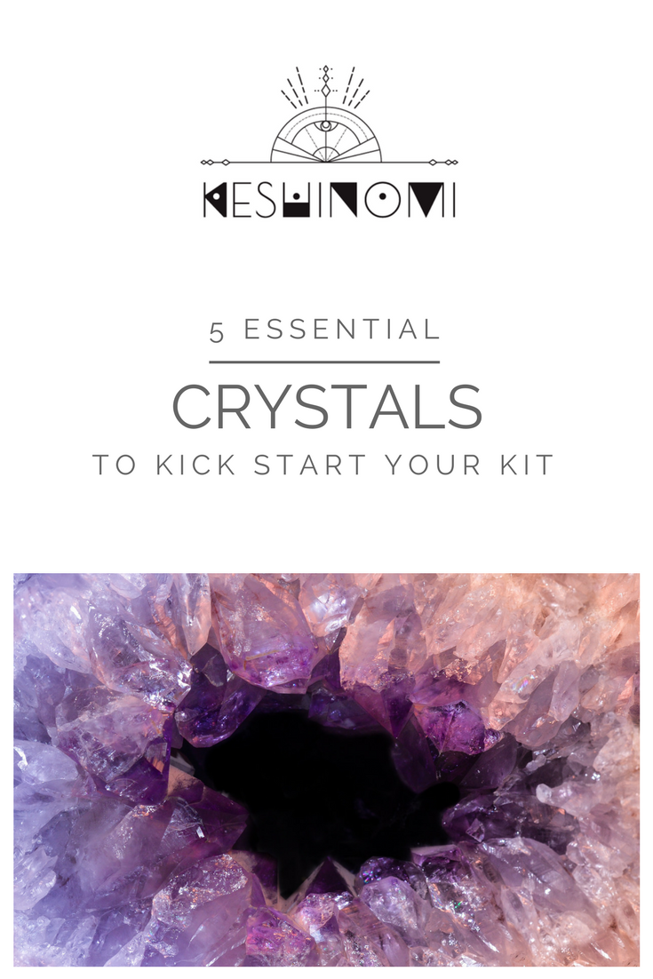 5 essential crystals for beginners guide