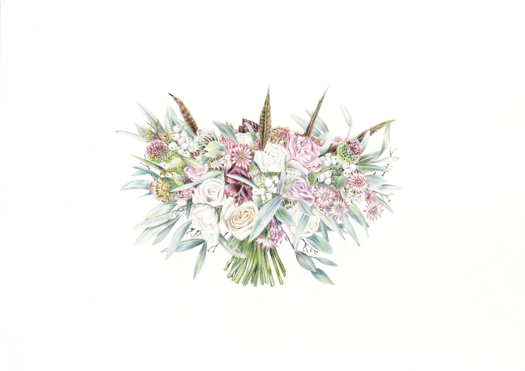 Charlotte Argyrou's botanical illustration