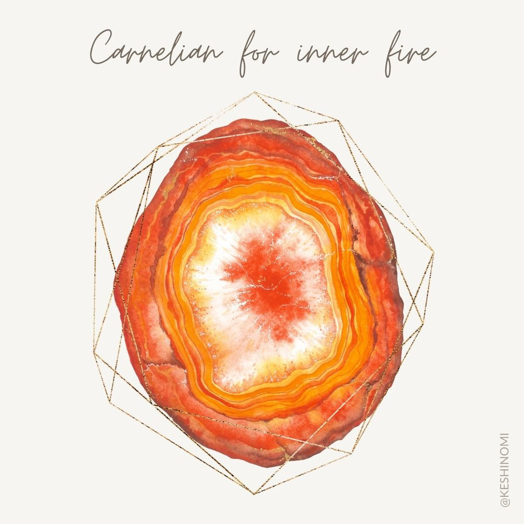 Carnelian meaning, crystal meanings and properties
