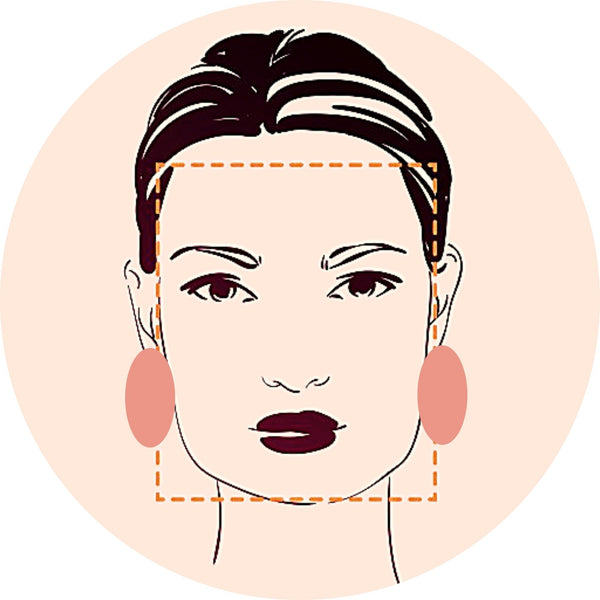 Best earrings for square face shapes