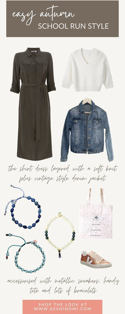 Effortless autumn boho style outfit
