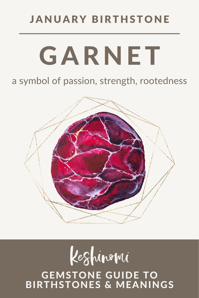 January birthstone garnet, facts and gift guide