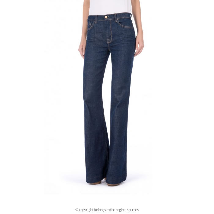 7 For All Mankind's Ginger flared jeans