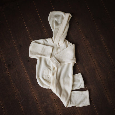 Hooded Merino Playsuit