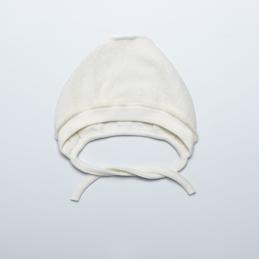 Natural Merino Wool Terry Hat
