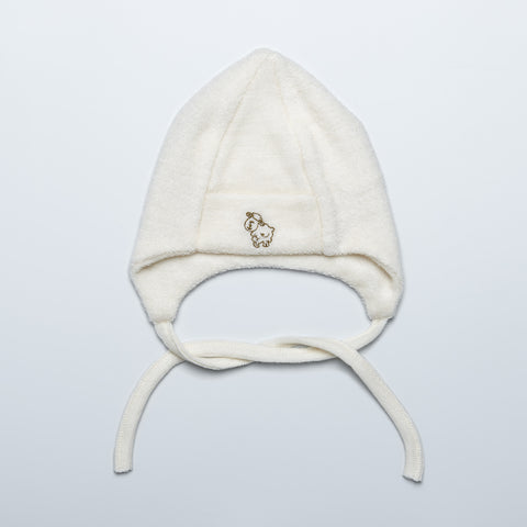 Natural Warm Merino Wool Terry Hat