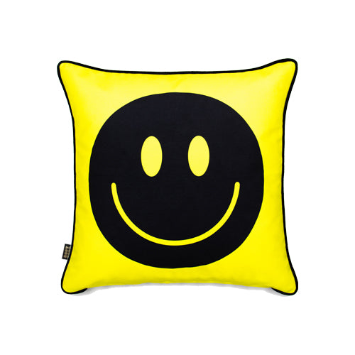 New Happy Face - Biggie -Yellow/Black - Contrast piping