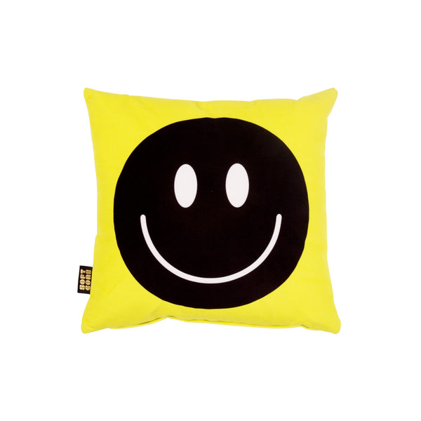 Happy Faces - Smalls - Acid Yellow / Black