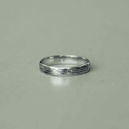 brad - engraved man ring