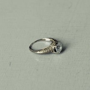 lady mae - vintage diamond ring