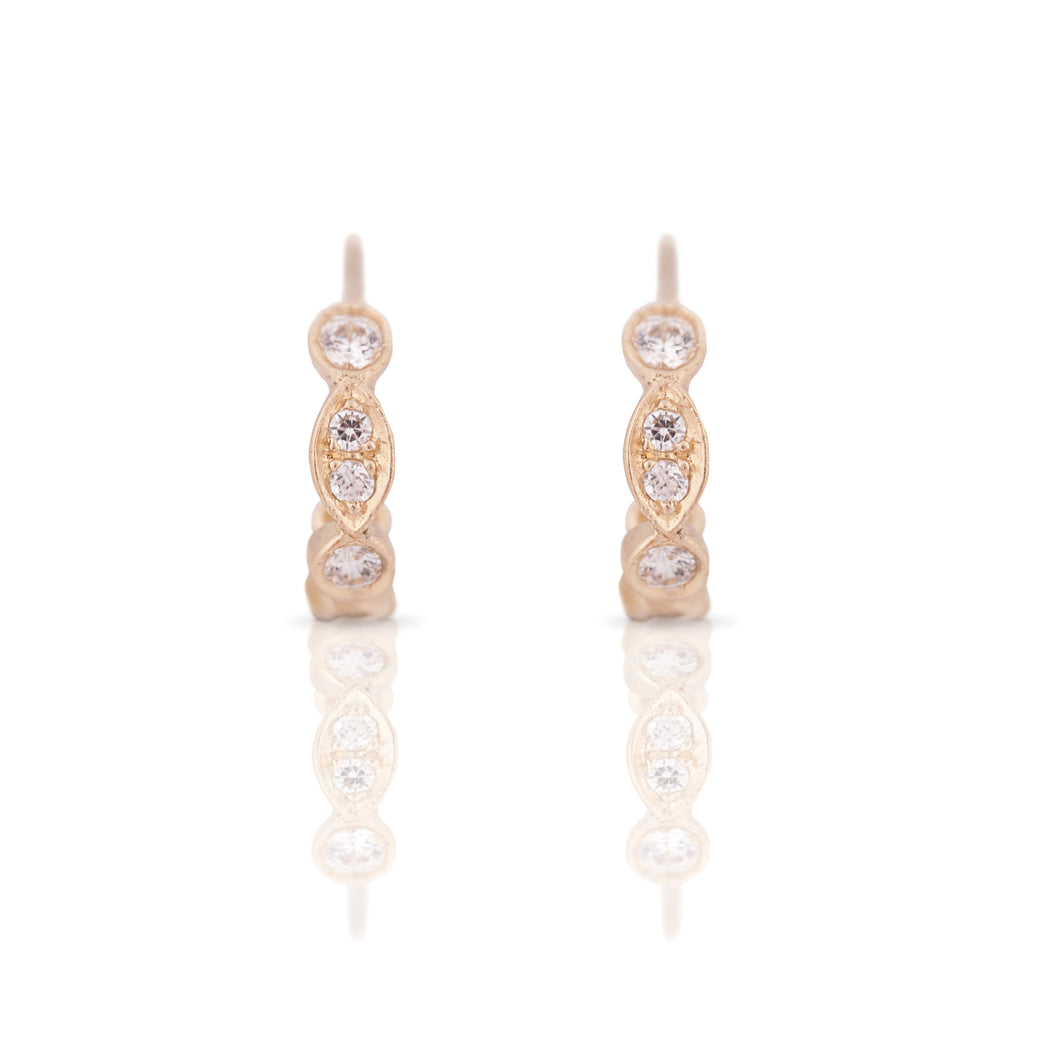 ayala -  14k & diamonds earring