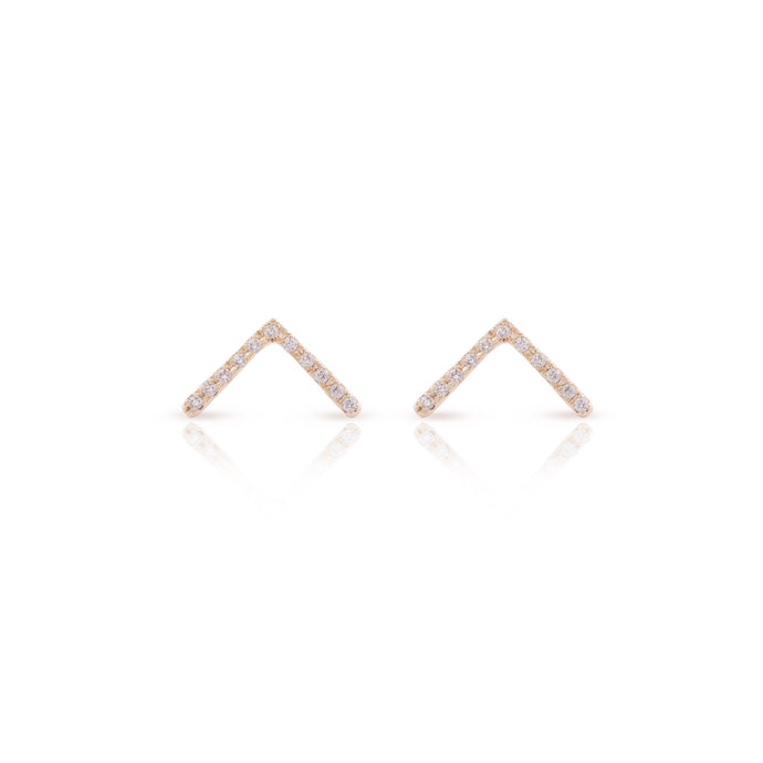 thin vivi - gold plated earrings