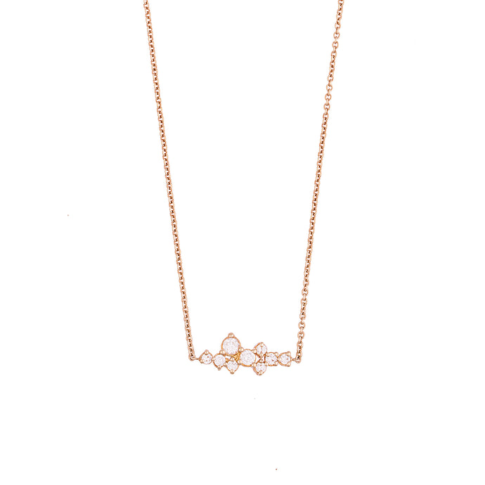 sophia necklace - 14k & diamonds