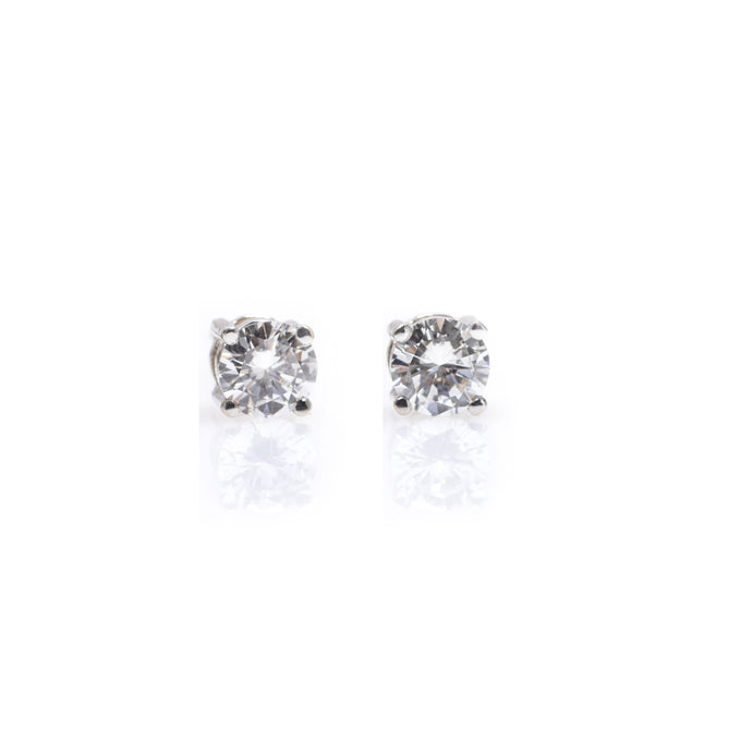ella - 14k & diamond earrings