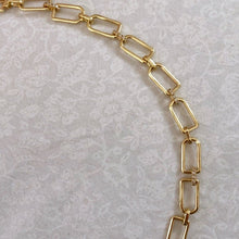 Load image into Gallery viewer, 14k cable chain & diamond bracelet