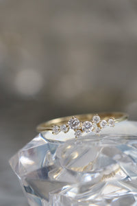 camille - 14k & diamond ring