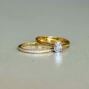 venus - white gold diamond eternity ring