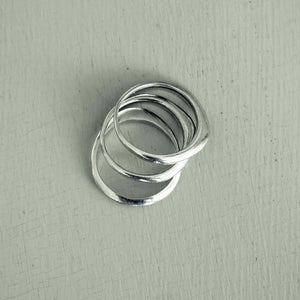 charlie - 3 a-symmetric stackable rings