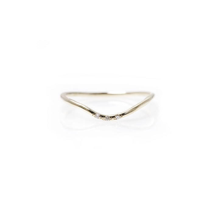 kira - 14k & diamond ring