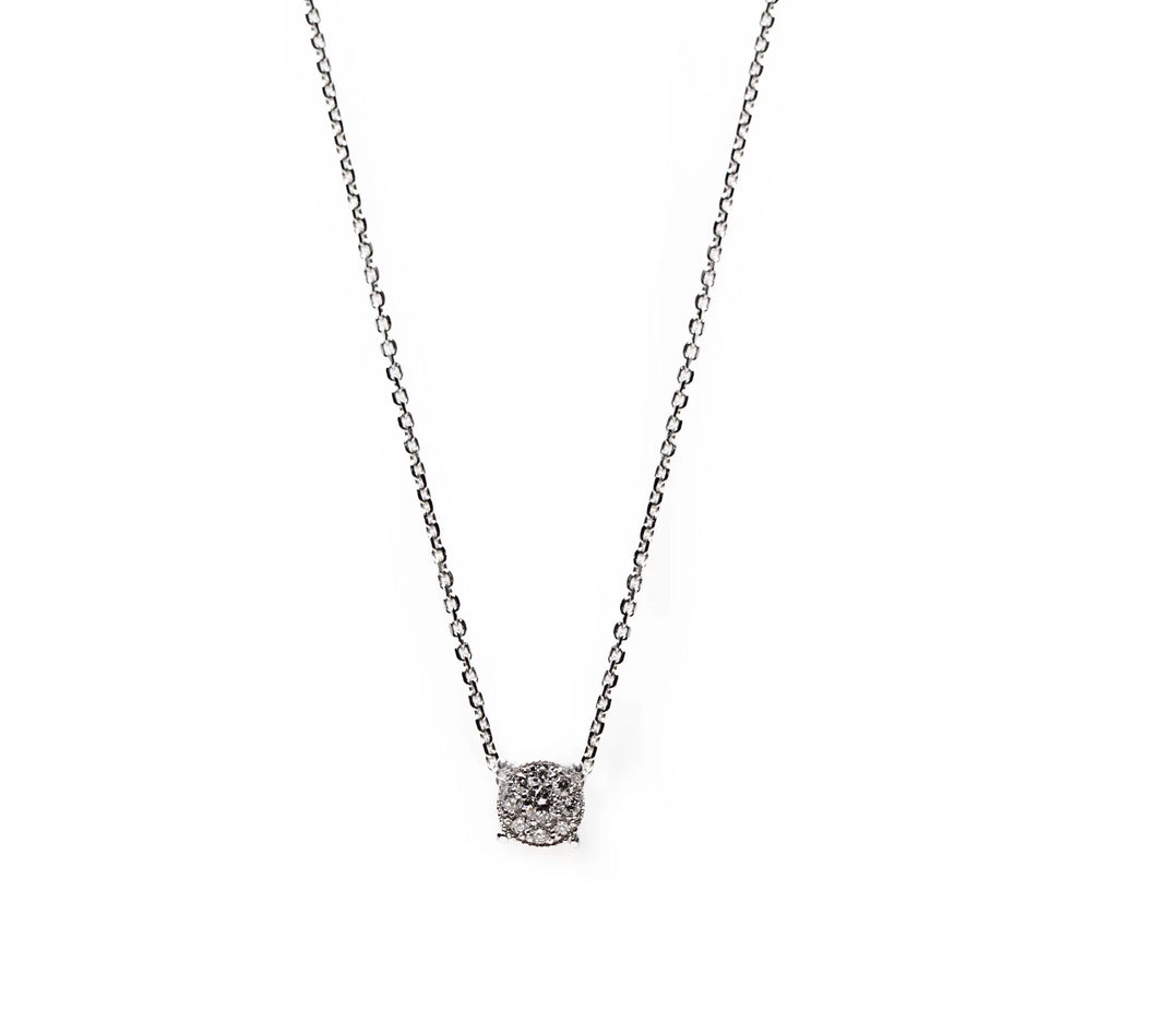 renée necklace - 14k & diamonds