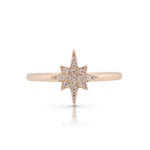 estrea - center star ring