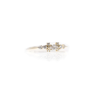 chloé - 14k & diamond ring