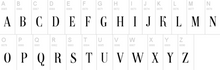 Load image into Gallery viewer, our available letter fonts