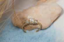 Load image into Gallery viewer, colette - 14k gold & diamond ring