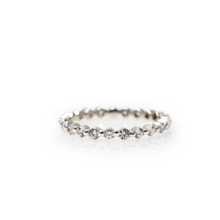 Load image into Gallery viewer, michelle - pavé diamond ring