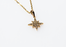 Load image into Gallery viewer, estrea necklace - 14k & diamonds