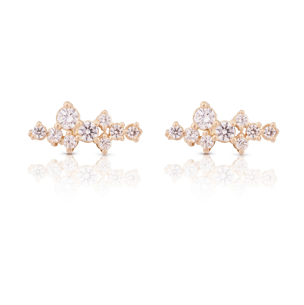sophia -  14k & diamonds earring