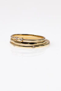 elise - 14k & diamond ring