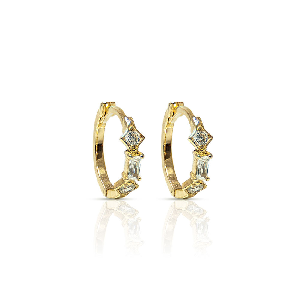 marcel S circle earrings