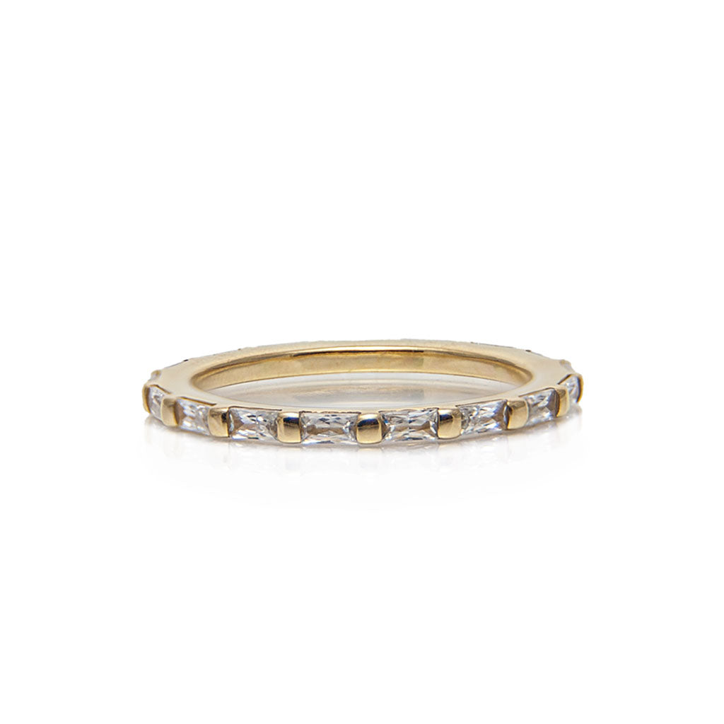 antoine eternity baguettes diamond ring