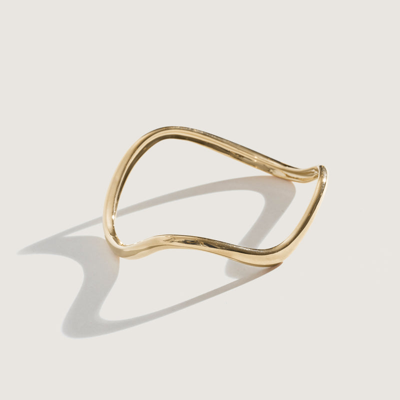 Dramatic Ophelia Bangle