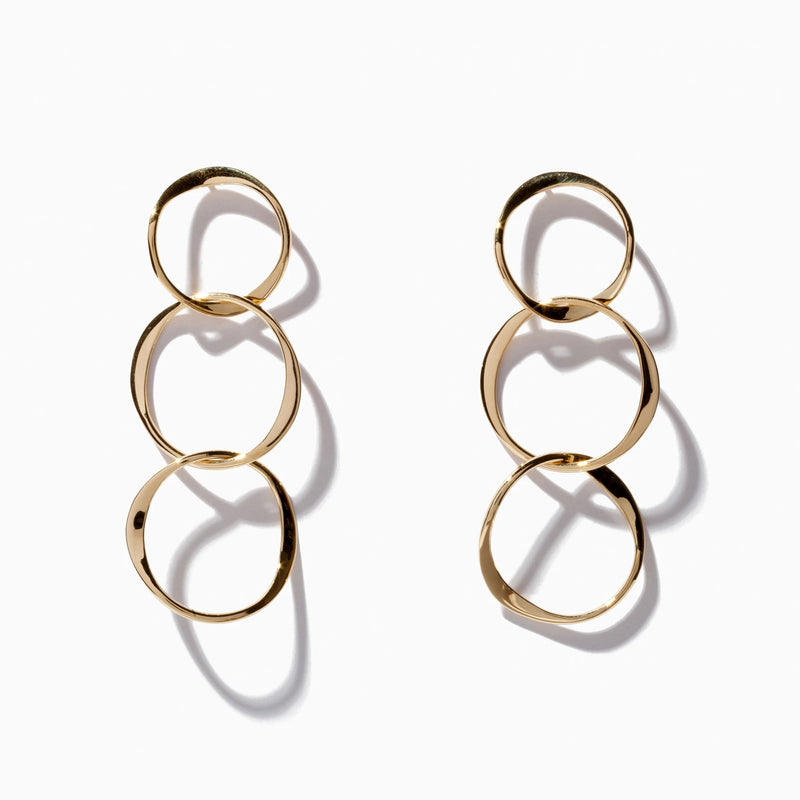 Long Interlocking Hoops
