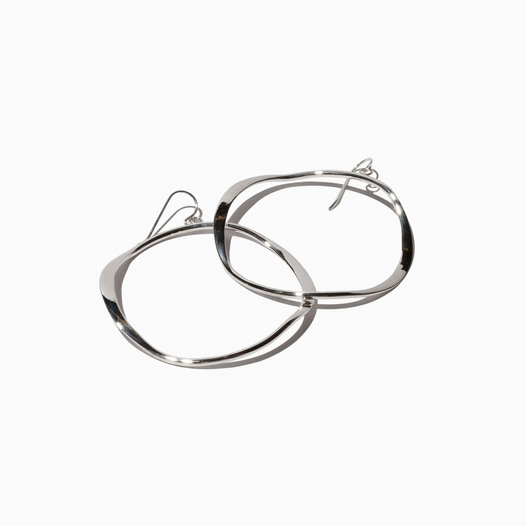 Small Wave Hoops